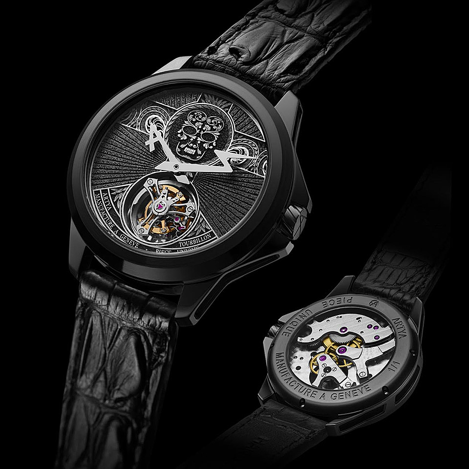 BASELWORLD2016 Calavera tourbillon