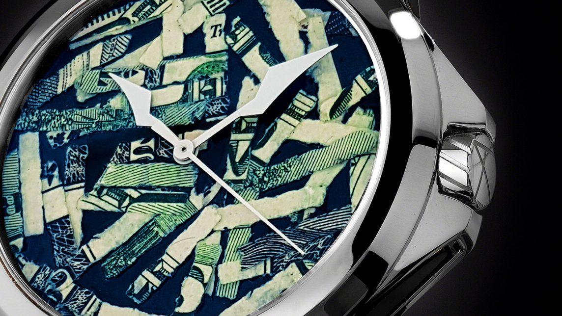 現代アート 腕時計