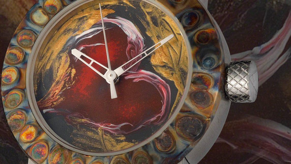 アーティアのレディース腕時計