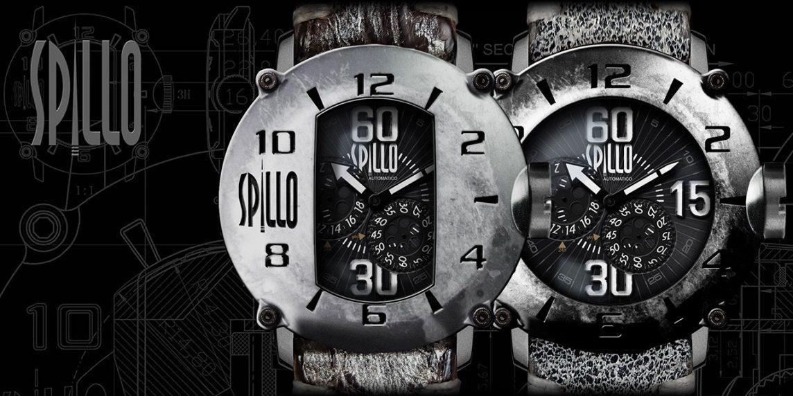 大人のバイク乗りのための腕時計 SPILLO