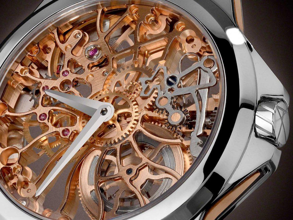 スケルトン時計 SHAMS