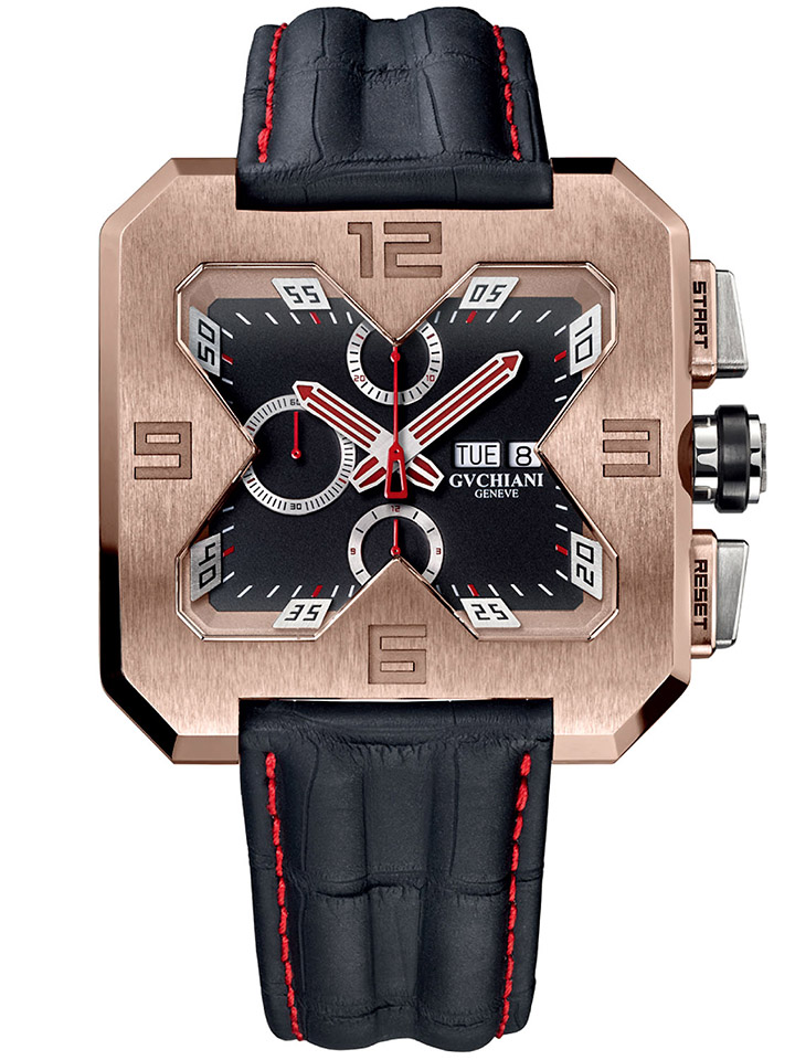 GVCHIANI Big Square Rose Gold